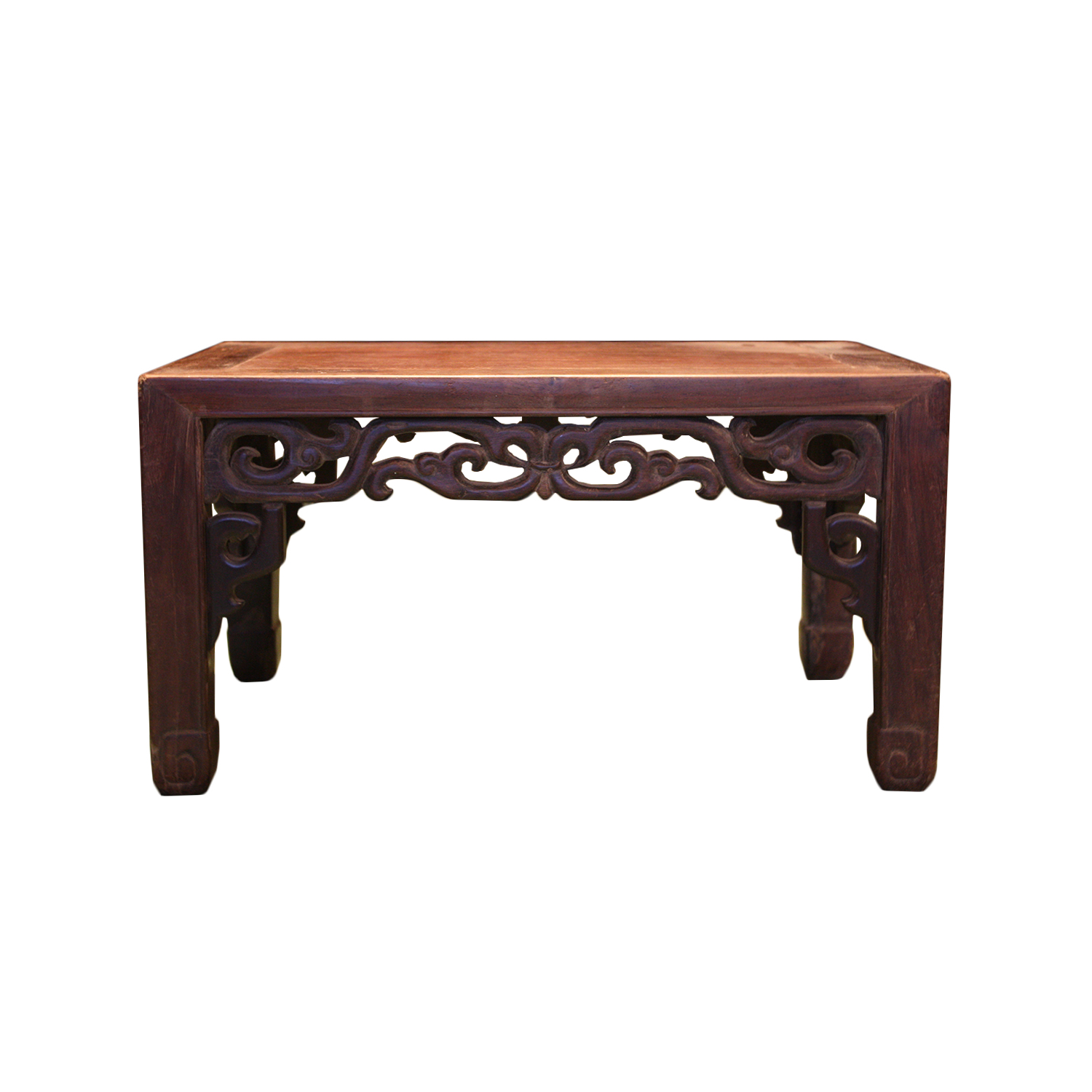 Japanese tea table dimensions -  14740 Antique Low Kang Table Made Of Exotic Hardwood